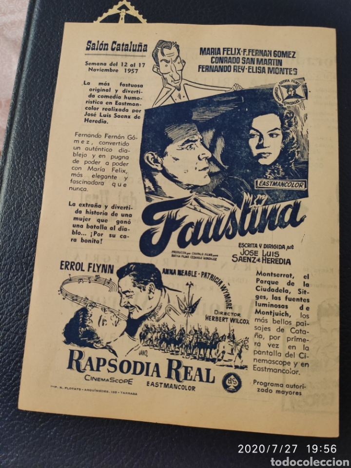 Cine: 2 Circuitos cinematográficos año 1957 - Foto 6 - 213011073