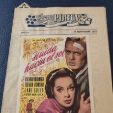 Cine: 2 CIRCUITOS CINEMATOGRÁFICOS AÑO 1957. Lote 213011073