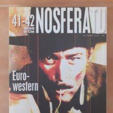 Cine: NOSFERATU - REVISTA DE CINE 41-42 - EURO-WESTERM. Lote 213218991