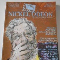 Cine: NICKEL ODEON. NUMERO TRES. VERANO 1996. REVISTA TRIMESTRAL DE CINE. 272 PAGINAS. 24 X 33 CMS. FOTOGR. Lote 213265320