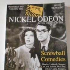Cinéma: NICKEL ODEON. NUMERO SEIS. PRIMAVERA 1997. REVISTA TRIMESTRAL DE CINE. 222 PAGINAS. 24 X 33 CMS. FOT. Lote 213265670