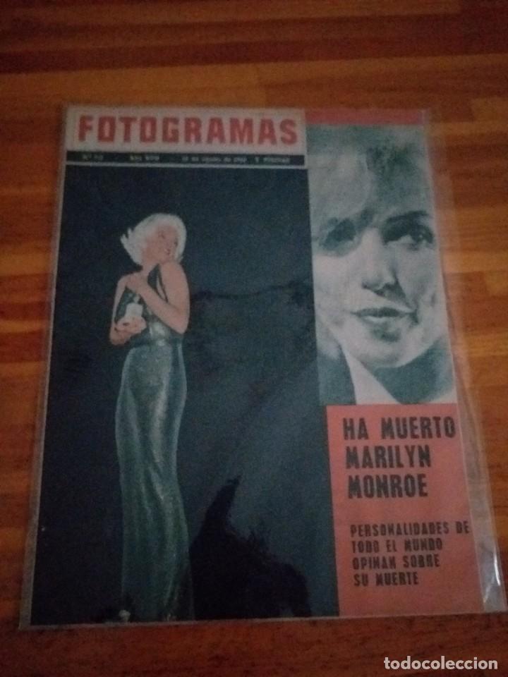 MARILYN MONROE HA MUERTO (Cine - Revistas - Fotogramas)