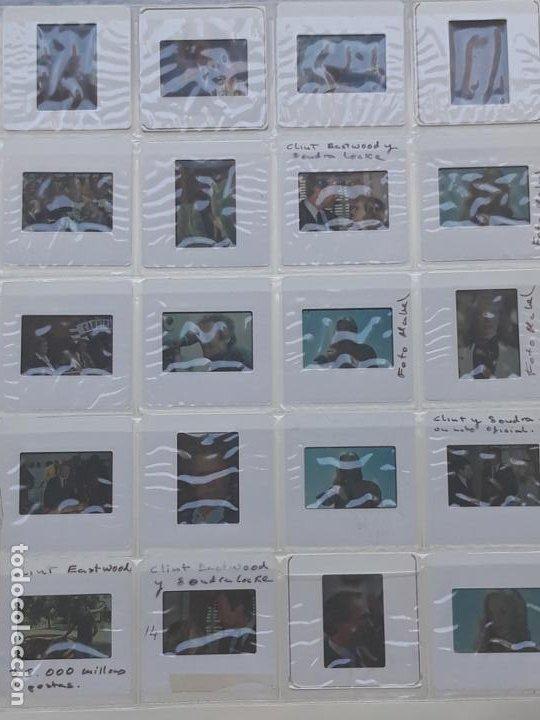 LOTE DE 34 DIAPOSITIVAS DEL ACTOR DE CINE: CLINT EASTWOOD (Cine - Revistas - Colección ídolos del cine)