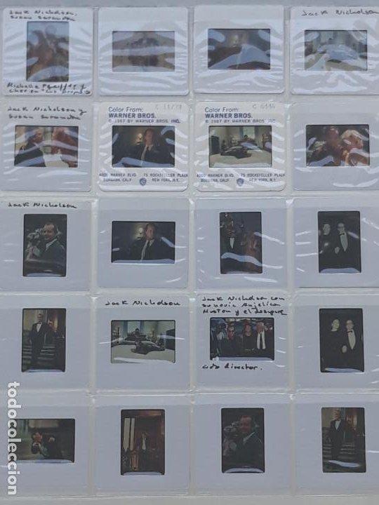 LOTE DE 25 DIAPOSITIVAS DEL ACTOR DE CINE: JACK NICHOLSON (Cine - Revistas - Colección ídolos del cine)