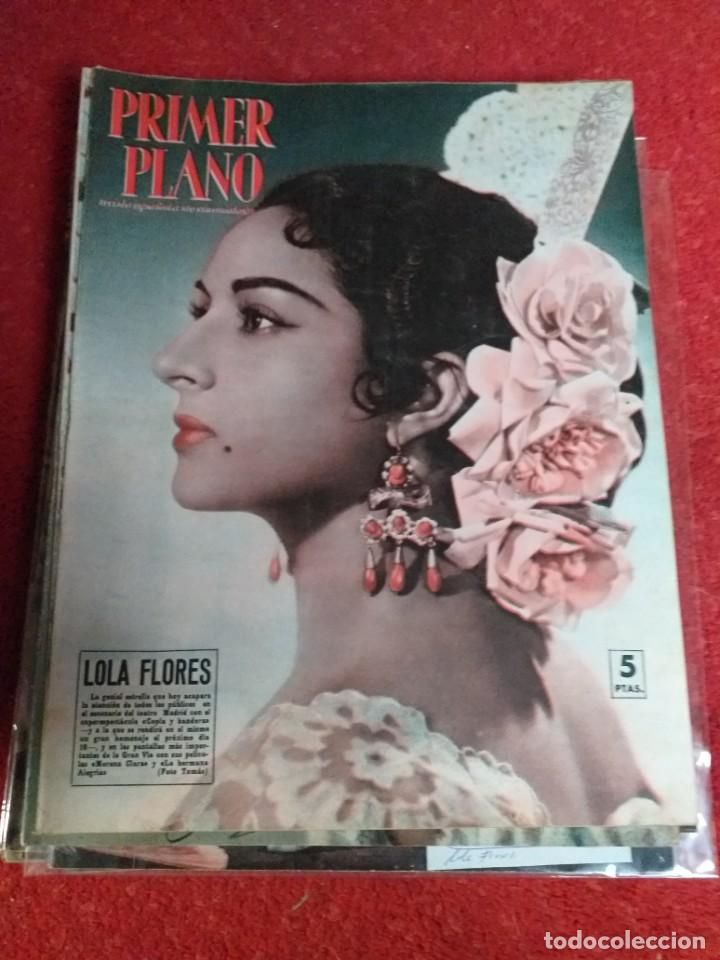 LOLA FLORES (Cine - Revistas - Primer plano)