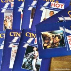 Cine: CINE DE HOY Nº 1 AL 10- FICHAS EXITOS DEL CINE 1987 A 1990- ROBOCOP, CHAQUETA METALICA, ARMA LETAL... Lote 213557561