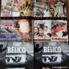 Cine: CINE BELICO Nº 0,1, 2- MONOGRAFICO: EL PUENTE SOBRE EL RIO KWAI & DOCE DEL PATIBULO -. Lote 213557955