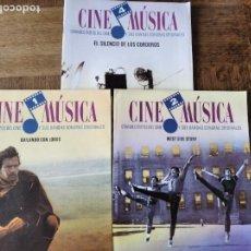 Cine: CINE Y MUSICA Nº 1, 2, 4- MONOGRAFICO: EL SILENCIO DE LOS CORDEROS, BAILANDO CON LOBOS, WEST SIDE ST. Lote 213558233