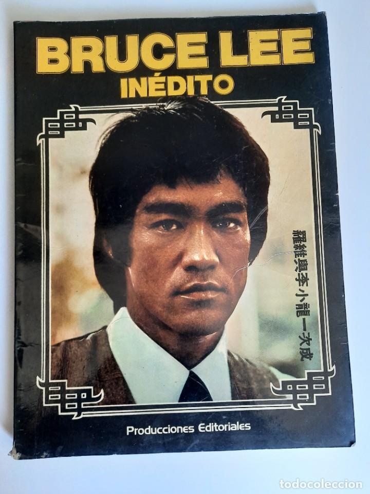 BRUCE LEE : INEDITO PRODUCCIONES EDITORIALES , AÑO 1975 (Cine - Revistas - Acción)