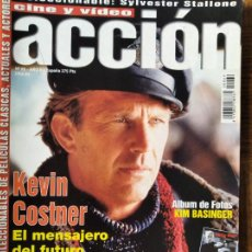 Cine: ACCION Nº 69 DE 1997- TITANIC- WOODY ALLEN- AMENABAR- STARSHIP TROOPERS- SYLVESTER STALLONE- COSTNER. Lote 213636292