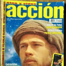 Cine: ACCION Nº 67 DE 1997- TITANIC- BRAD PITT- 007 JAMES BOND- ALIEN 4- PENELOPE CRUZ- JAVIER BARDEM.... Lote 213638768