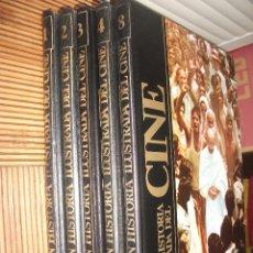 Cine: GRAN HISTORIA ILUSTRADA DEL CINE DE SARPE, TOMOS 1,2,3,4 Y 8. Lote 213644363