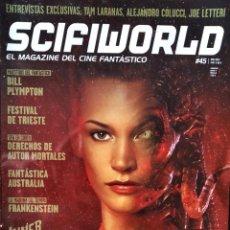 Cine: SCIFIWORLD Nº 45 DE 2012- ALIENIGENAS- VAMPIRELLA- BILL PLYMPTON- YAM LARANAS- ALEJANDRO COLUCCI.... Lote 213720597