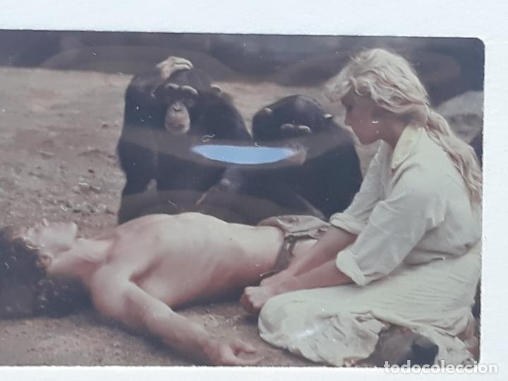 Cine: LOTE DE 12 DIAPOSITIVAS DE LA ACTRIZ DE CINE: BO DEREK - Foto 3 - 213732988