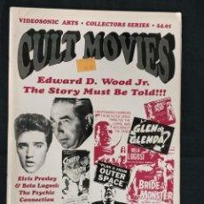 Cine: REVISTA CULT MOVIES - TEXTOS EN INGLES -. Lote 213793147