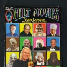 Cine: REVISTA CULT MOVIES - Nº 40 - TEXTOS EN INGLES -. Lote 213793275