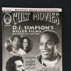 Cine: REVISTA CULT MOVIES - Nº 38 - TEXTOS EN INGLES -. Lote 213793368