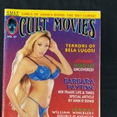 Cine: REVISTA CULT MOVIES - Nº 37 - TEXTOS EN INGLES -. Lote 213793457