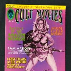 Cine: REVISTA CULT MOVIES - Nº 36 - TEXTOS EN INGLES -. Lote 213793535