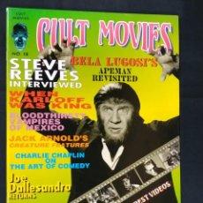 Cine: REVISTA CULT MOVIES - Nº 18 - TEXTOS EN INGLES -. Lote 213794967