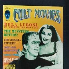 Cine: REVISTA CULT MOVIES - Nº 16 - TEXTOS EN INGLES -. Lote 213795040