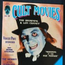 Cine: REVISTA CULT MOVIES - Nº 15 - TEXTOS EN INGLES -. Lote 213795096