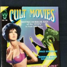 Cine: REVISTA CULT MOVIES - Nº 14 - TEXTOS EN INGLES -. Lote 213795153