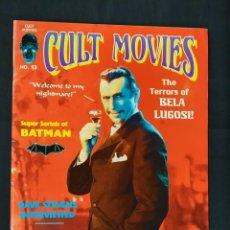 Cine: REVISTA CULT MOVIES - Nº 13 - TEXTOS EN INGLES -. Lote 213795250