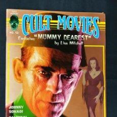 Cine: REVISTA CULT MOVIES - Nº 12 - TEXTOS EN INGLES -. Lote 213795287