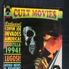 Cine: REVISTA CULT MOVIES - Nº 10 - TEXTOS EN INGLES -. Lote 213795387