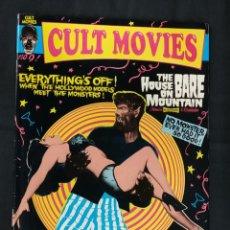 Cine: REVISTA CULT MOVIES - Nº 9 - TEXTOS EN INGLES -. Lote 213795506
