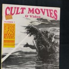 Cine: REVISTA CULT MOVIES - Nº 7 - TEXTOS EN INGLES -. Lote 213795642
