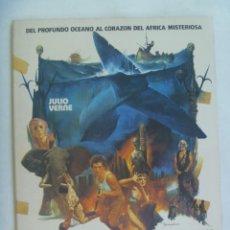 Cine: LOS DIABLOS DEL MAR . DE JULIO VERNE . DIRECTOR J. PIQUER SIMON, ALMENA INTERNACIONAL FILMS , 1982. Lote 213868041