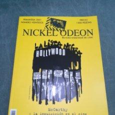 Cine: REVISTA DE CINE NICKEL ODEON Nº 22 - MCCARTHY Y LA INQUISICIÓN EN EL CINE - PRIMAVERA 2001. Lote 213885231