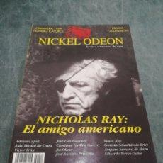 Cine: REVISTA DE CINE NICKEL ODEON Nº 14 - NICHOLAS RAY : EL AMIGO AMERICANO - PRIMAVERA 1999. Lote 213885083