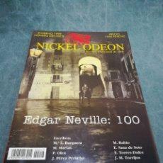 Cinema: REVISTA DE CINE NICKEL ODEON Nº 17 - EDGAR NEVILLE - INVIERNO 1999. Lote 213885155
