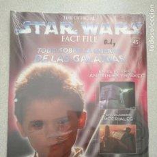 Cinema: OFFICIAL STAR WARS FACT FILE-TODO SOBRE LA GUERRA DE LAS GALAXIAS-PLANETA AGOSTINI-FASCÍCULO 45. Lote 214018690