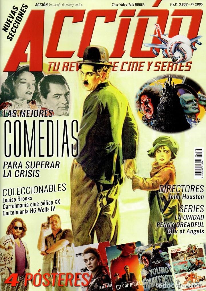 ACCION N. 2005 MAYO 2020 - EN PORTADA: LAS MEJORES COMEDIAS PARA SUPERAR LA CRISIS (NUEVA) (Cine - Revistas - Acción)