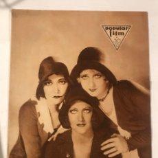 Cine: POPULAR FILM AGOSTO 1930. Lote 214118721
