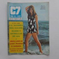 Cine: CINE EN 7 DIAS JULIO 1969 Nº 431, ESTRELLAS Y BAÑOS 69, FRANK SINATRA, CINE ESPAÑOL FORMULA V. Lote 214154345