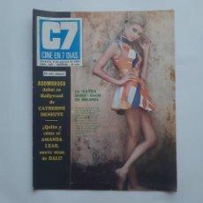 Cine: CINE EN 7 DIAS JULIO 1969 Nº 434, AMANDA LEAR MUSA SALVADOR DALI, DISNEY, ROCIO JURADO, LOS ALBAS. Lote 214155085