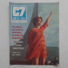 Cine: CINE EN 7 DIAS AGOSTO 1969 Nº 435, SARA MONTIEL, YO BURT LANCASTER, ENCARNITA POLO, THE SPECTRUM. Lote 214155428