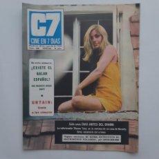 Cine: CINE EN 7 DIAS AGOSTO 1969 Nº 438, URTAIN. MISTERIO SHARON TATE ROMAN POLANSKI. Lote 214156651