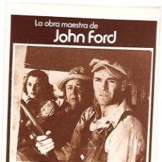 Cinema: LAS UVAS DE LA IRA. Lote 214191721