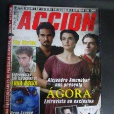 Cine: REVISTA ACCIÓN Nº 910 POSTER INCLUIDO, PORTADA SUELTA, VER FOTOS. Lote 214277726