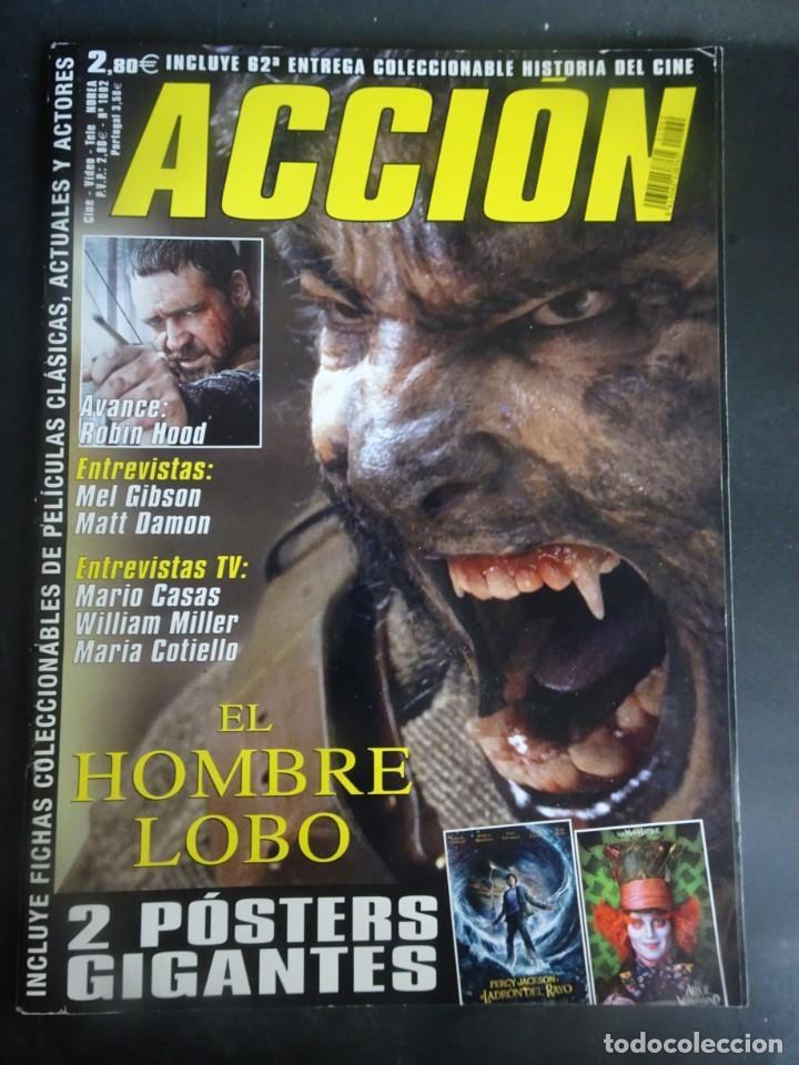 REVISTA ACCIÓN Nº 1002 POSTER DOBLE INCLUIDO, VER FOTOS (Cine - Revistas - Acción)