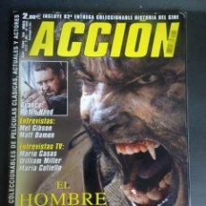 Cine: REVISTA ACCIÓN Nº 1002 POSTER DOBLE INCLUIDO, VER FOTOS. Lote 214277948