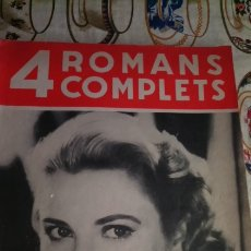 Cine: 4 ROMANS COMPLETS. Lote 214282065