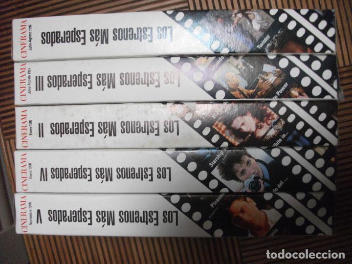 Cine: CINERAMA, 17 REVISTAS, SE INCLUYE 7 PRIMERAS ENTREGAS DEL DICCIONARIO DE ACTORES Y 5 CINTAS VHS - Foto 10 - 208342841