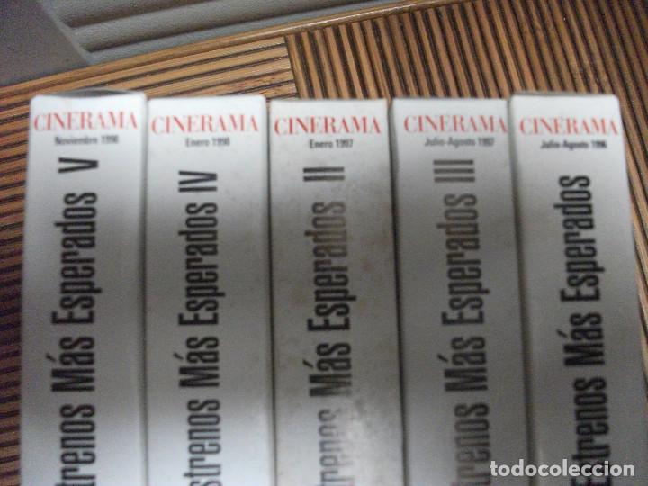 Cine: CINERAMA, 17 REVISTAS, SE INCLUYE 7 PRIMERAS ENTREGAS DEL DICCIONARIO DE ACTORES Y 5 CINTAS VHS - Foto 11 - 208342841